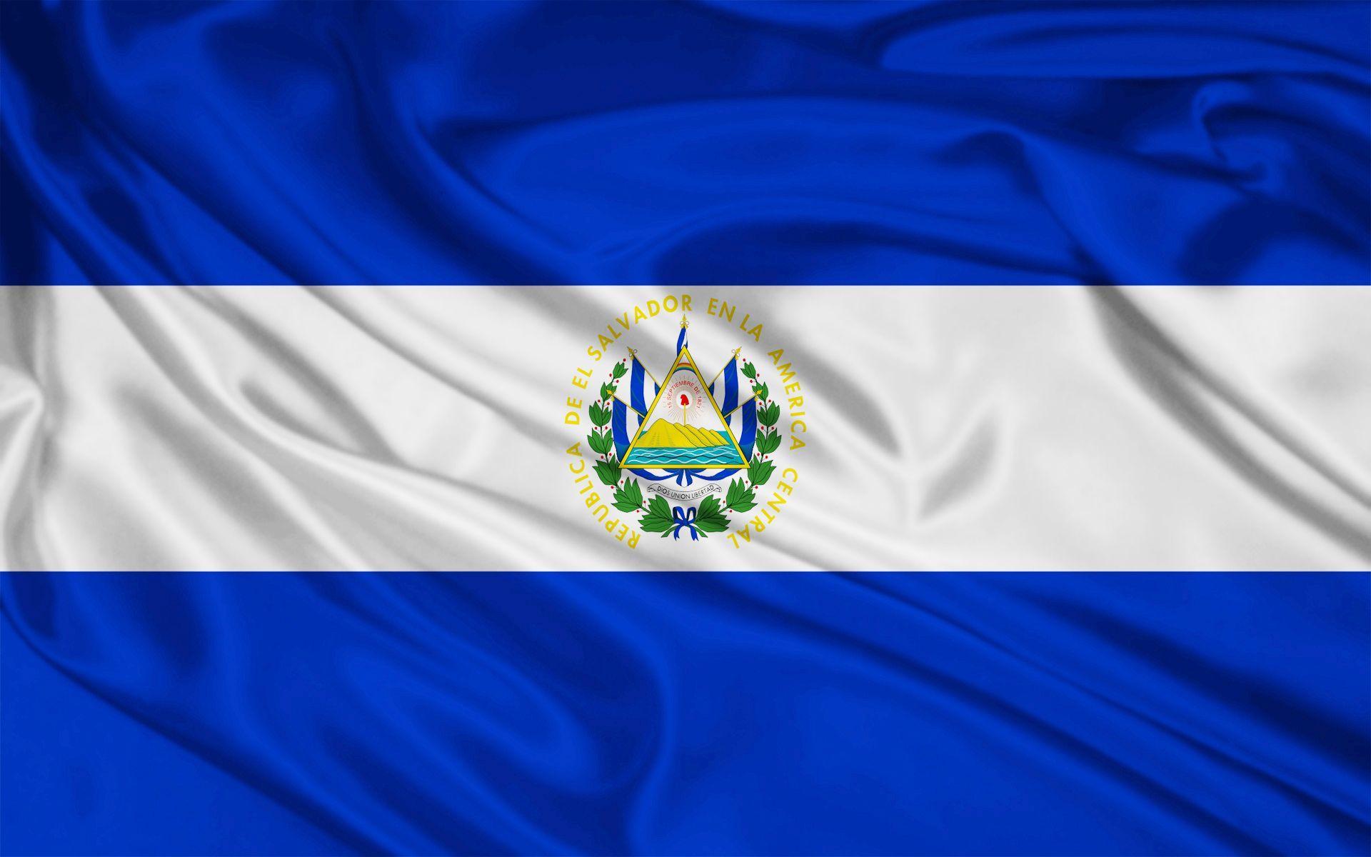 El Salvador Flag Wallpaper