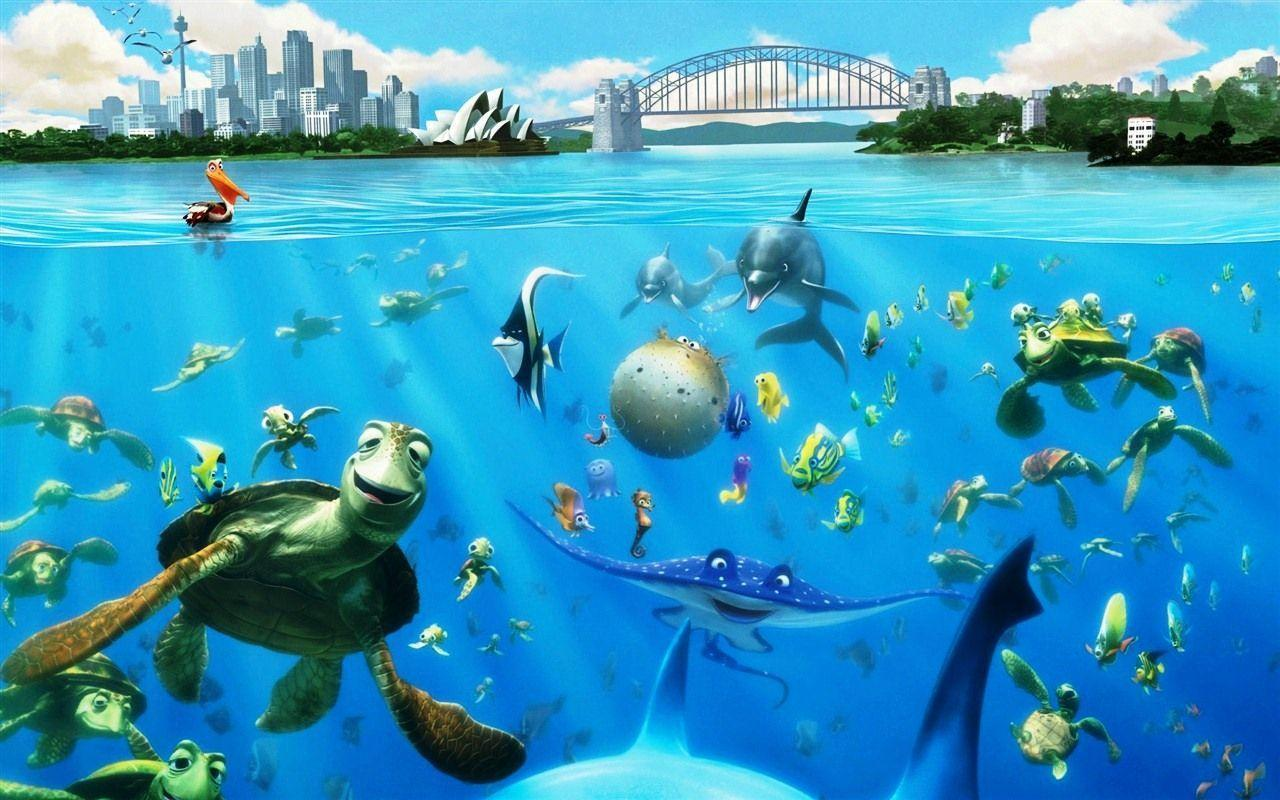 finding nemo hd wallpapers - photo #32