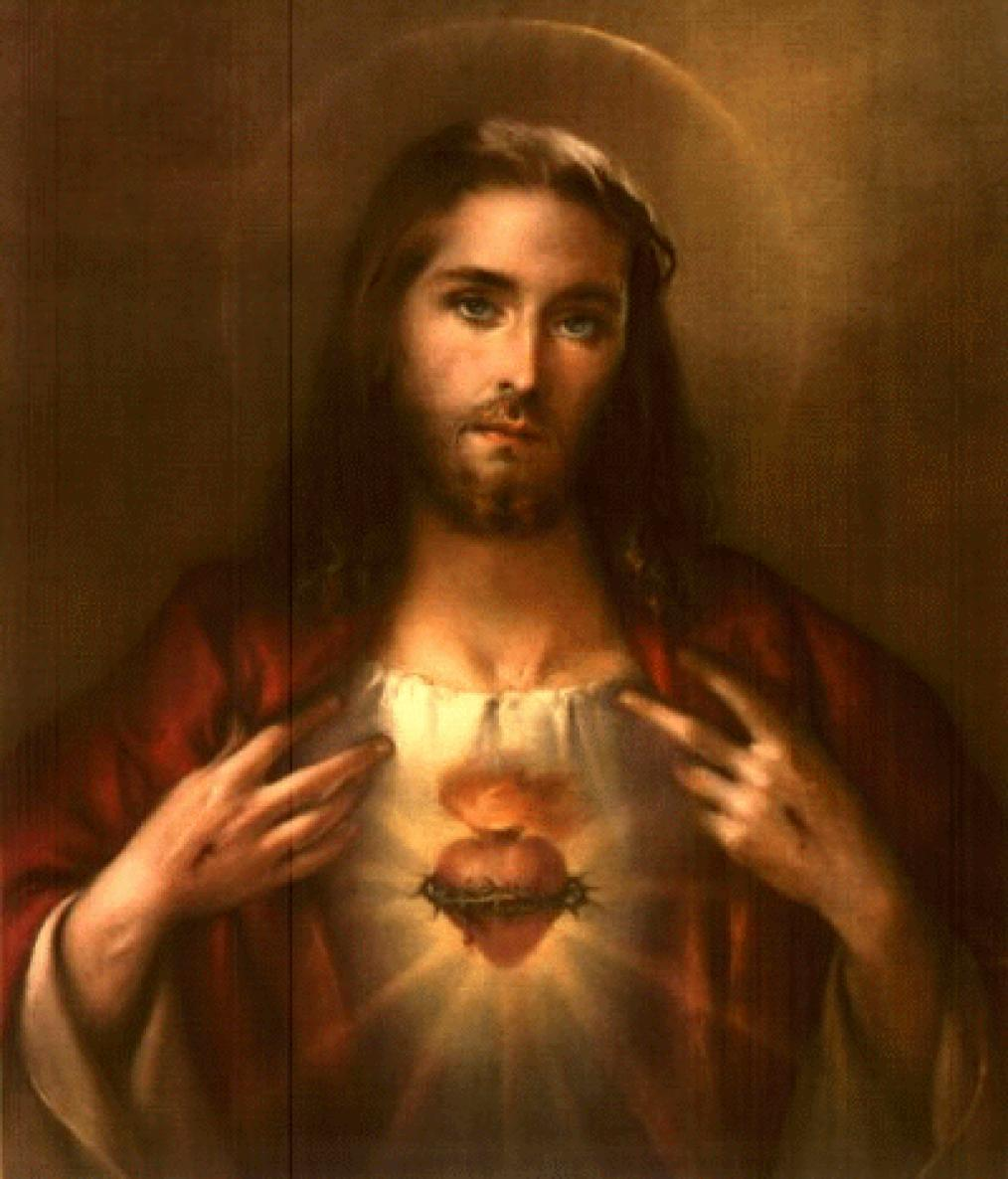 Image For > Sacred Heart Of Jesus Wallpapers