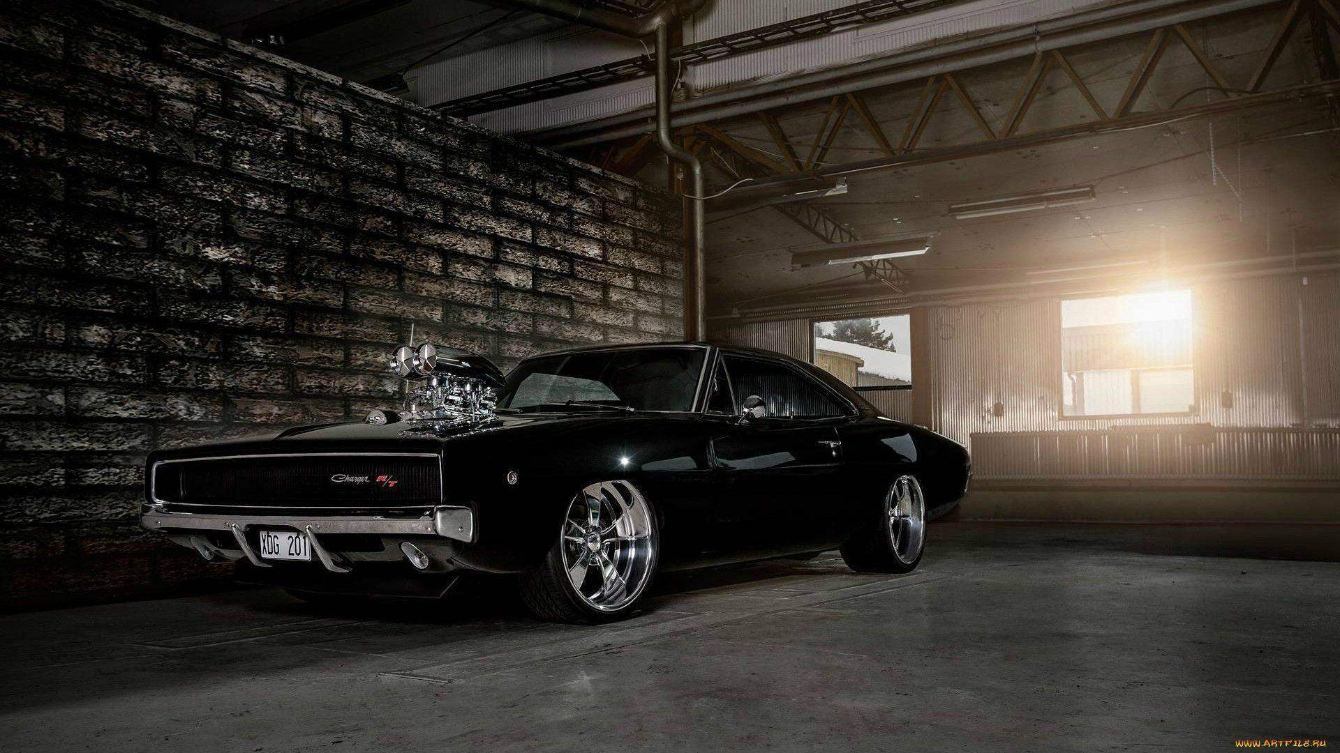 Vin Diesel Dodge Charger 1970 Blower HD Desktop