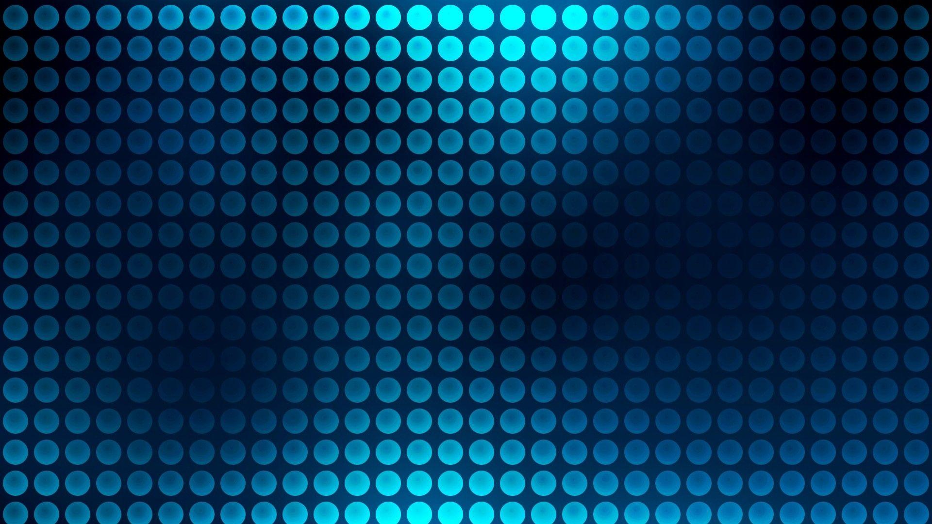 Blue Neon Circle Pattern Wallpapers Wide or HD