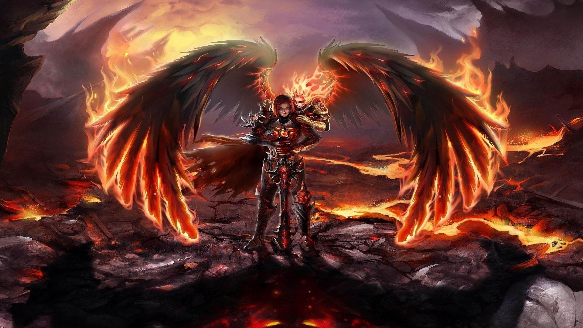 Dark Angel Backgrounds - Wallpaper Cave
