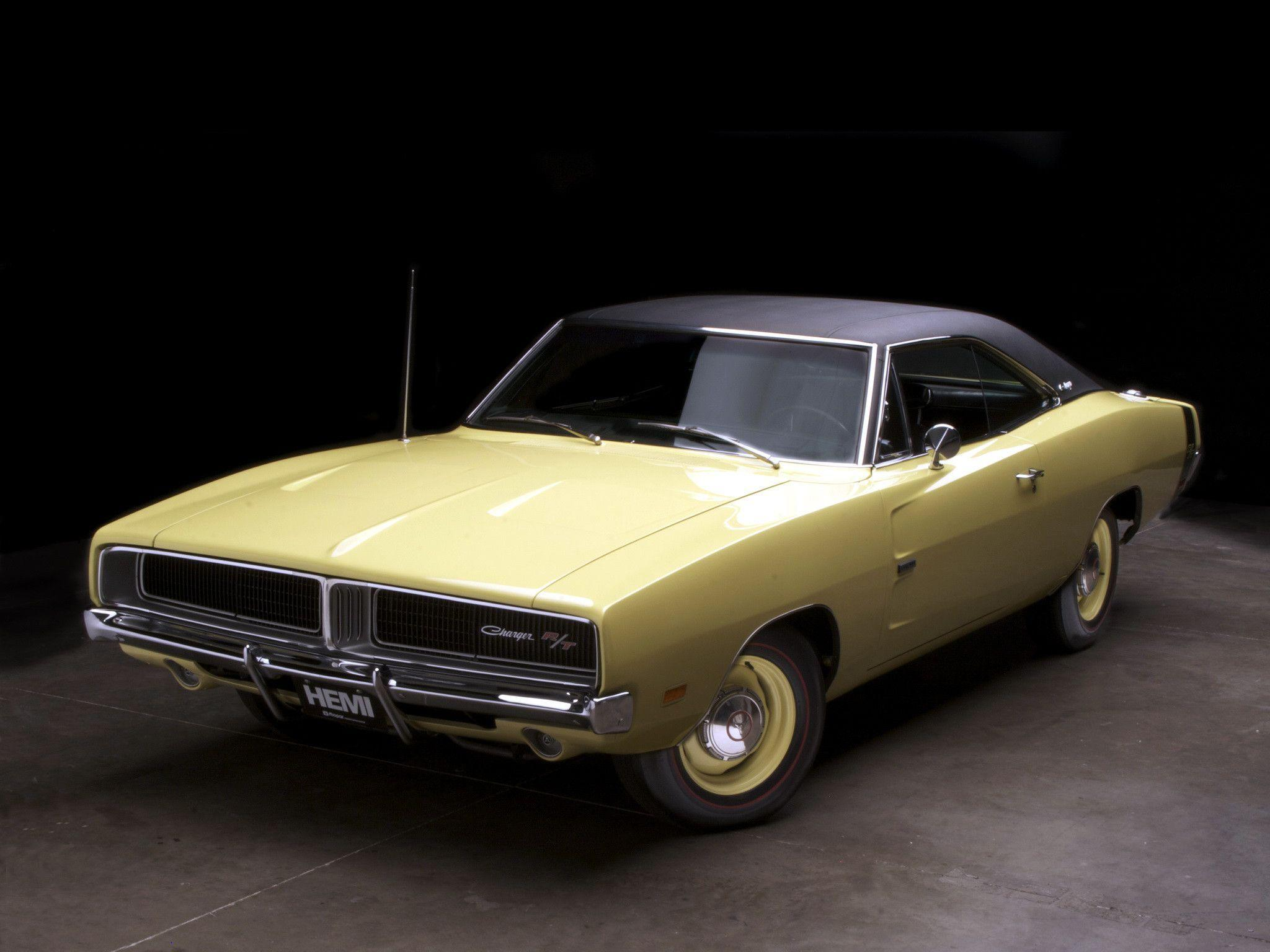 1969 Dodge Charger R-T 426 Hemi XS29 muscle classic d wallpaper ...