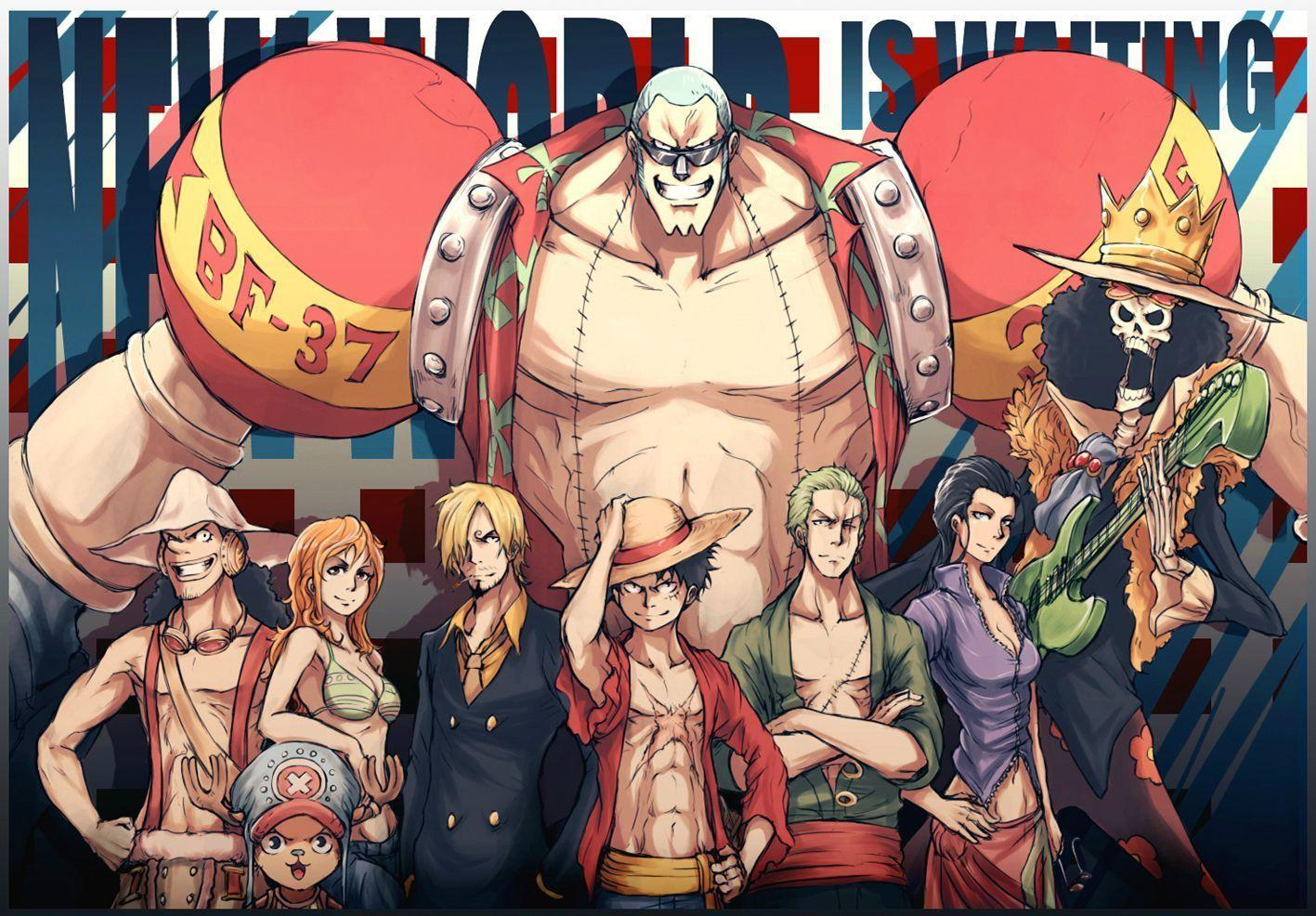 One piece new world wallpaper widescreen