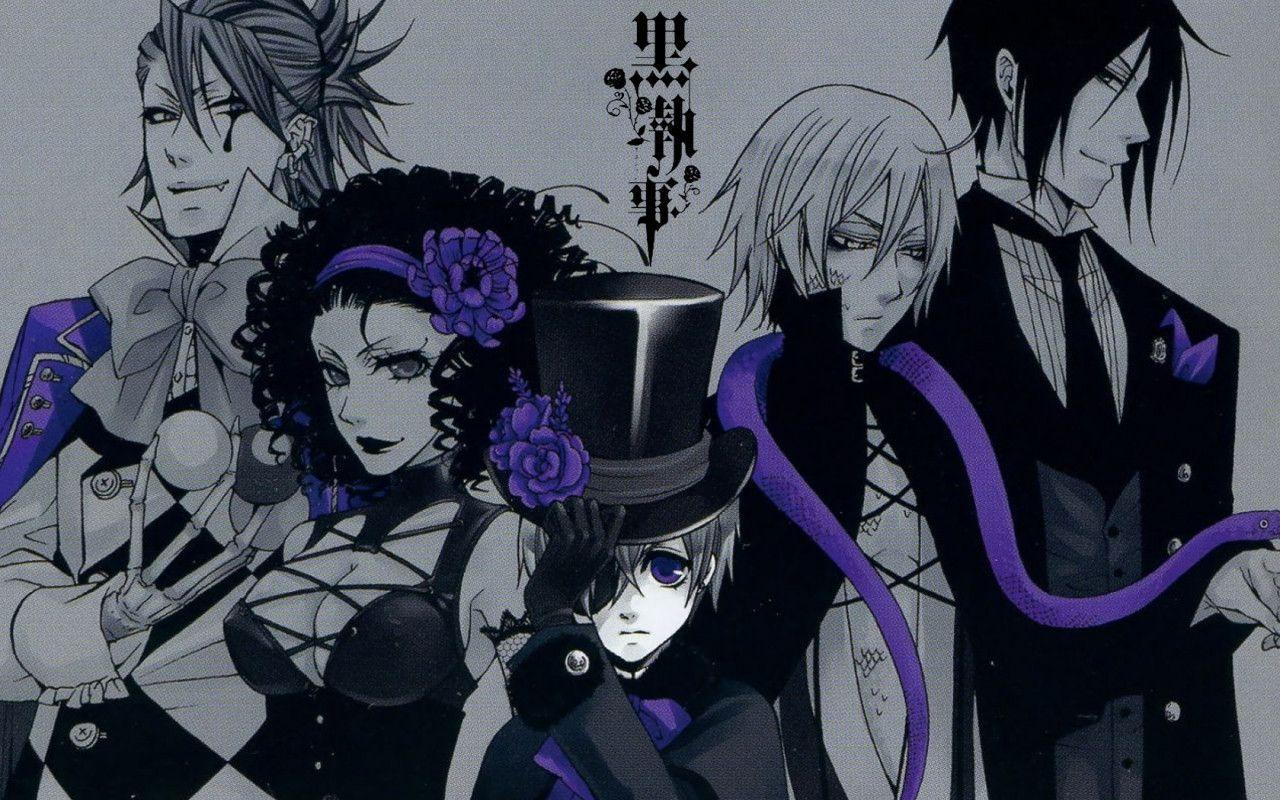 Black Butler Wallpapers 13243 Wallpapers