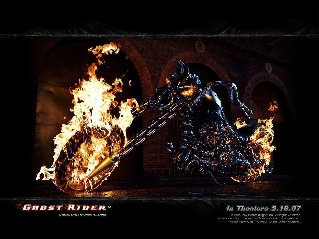 Wallpapers For > Ghost Rider Skull Wallpapers