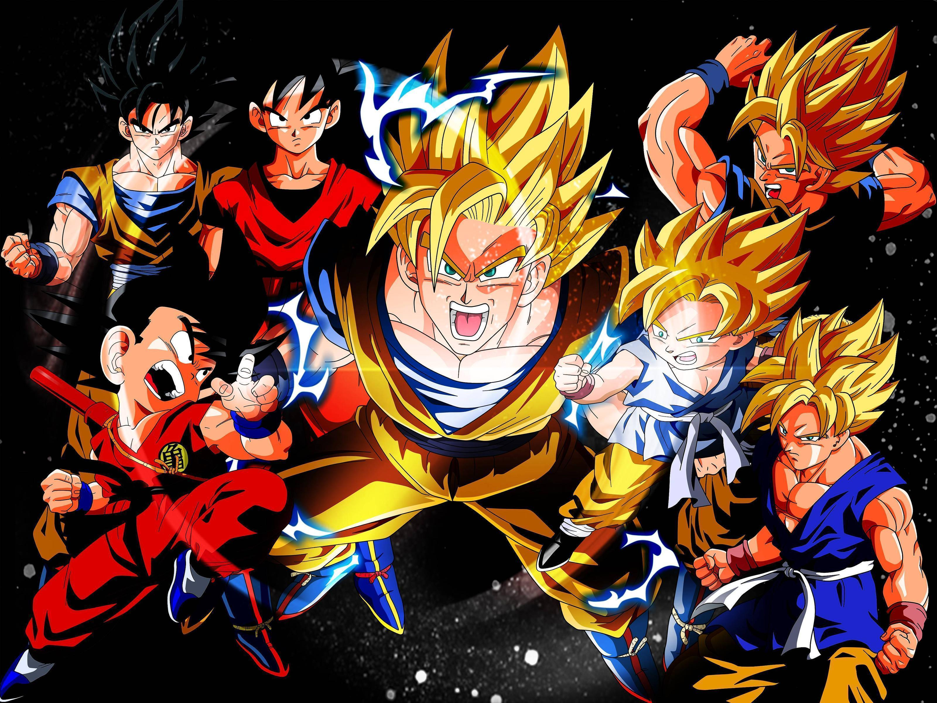Goku wallpaper by acidlullaby08 on deviantart