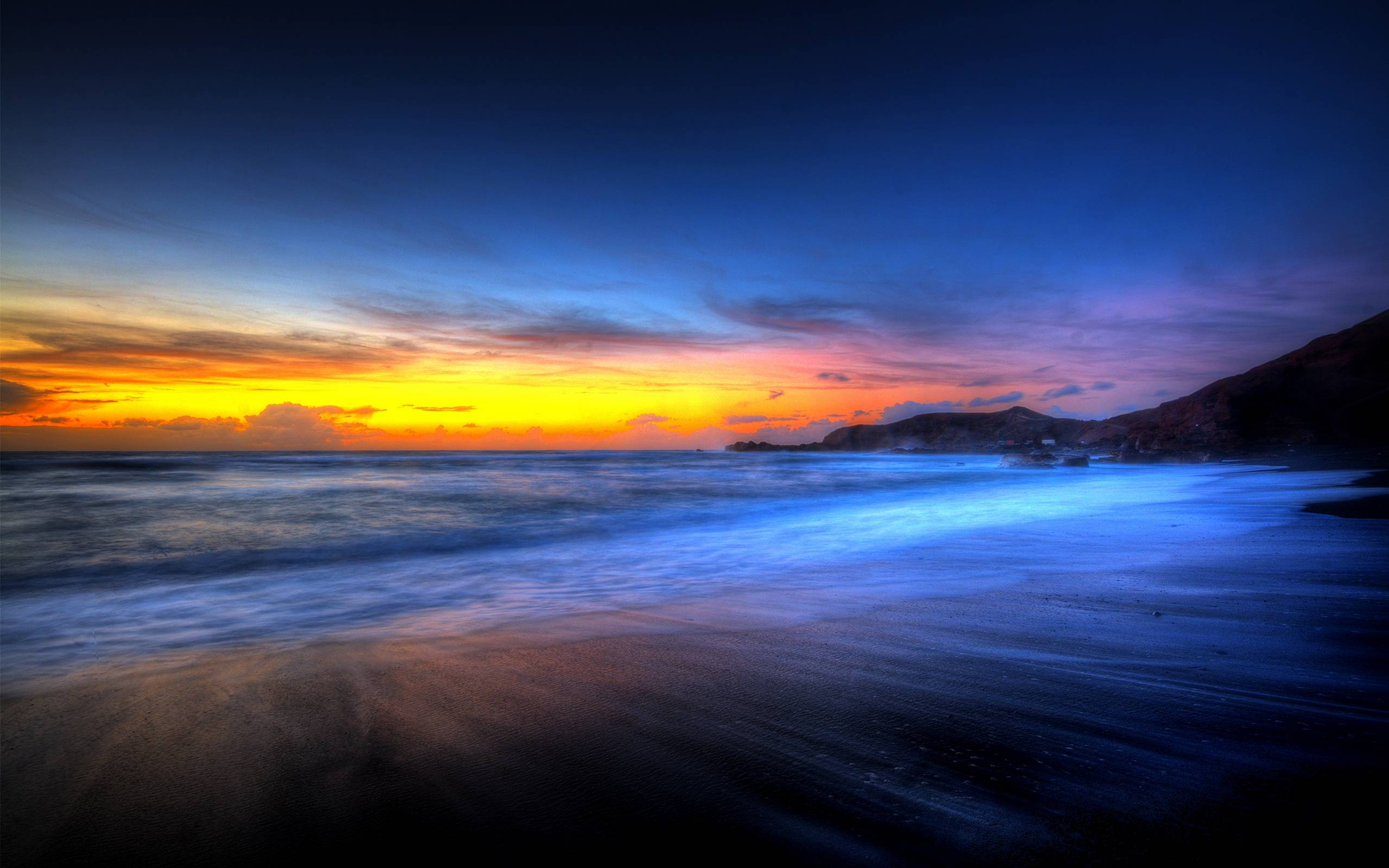 Amazing Colorful Beach Sunsets Wallpaper #10316 Wallpaper ...