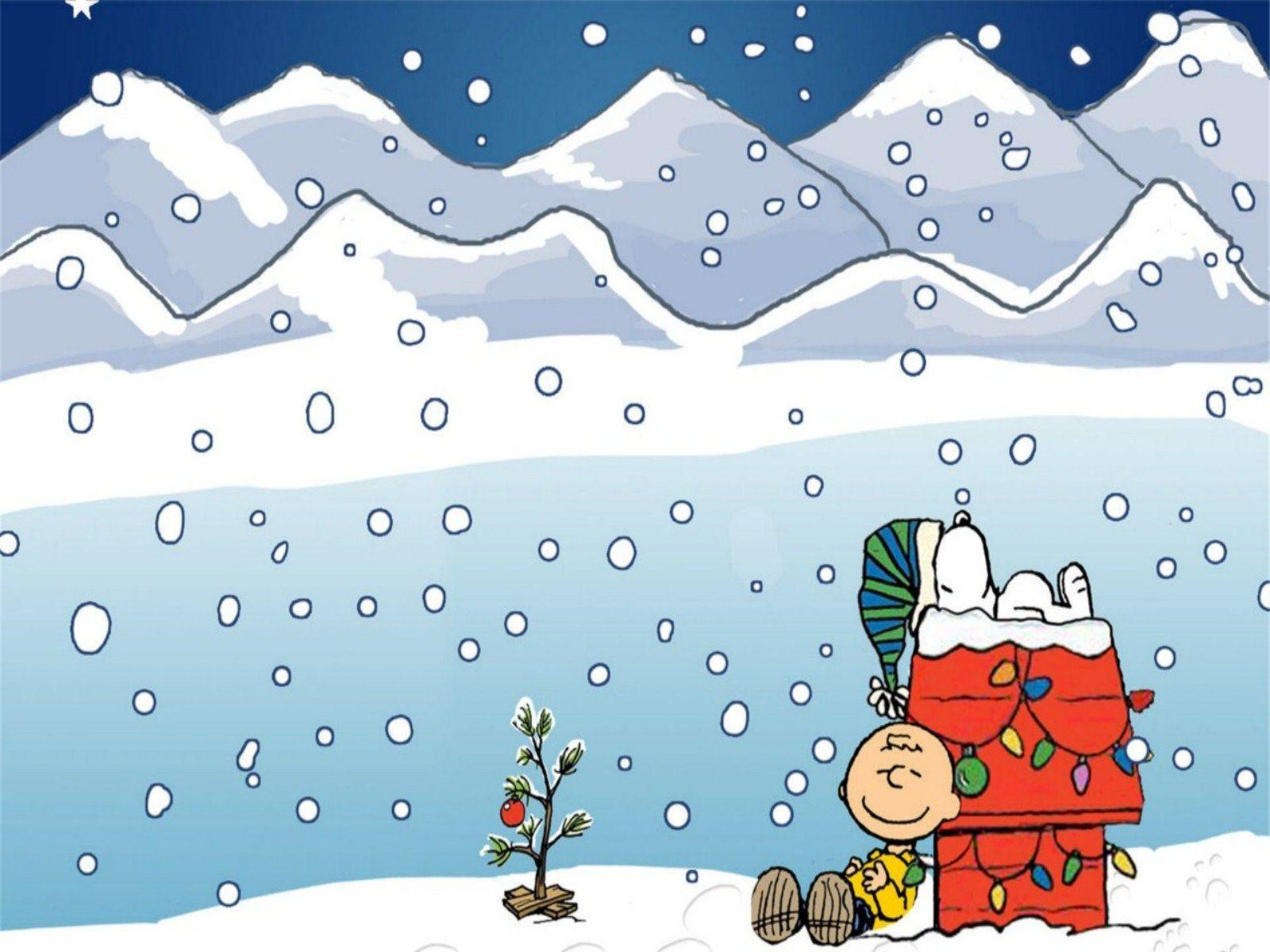 winter wallpaper charlie brown - photo #3