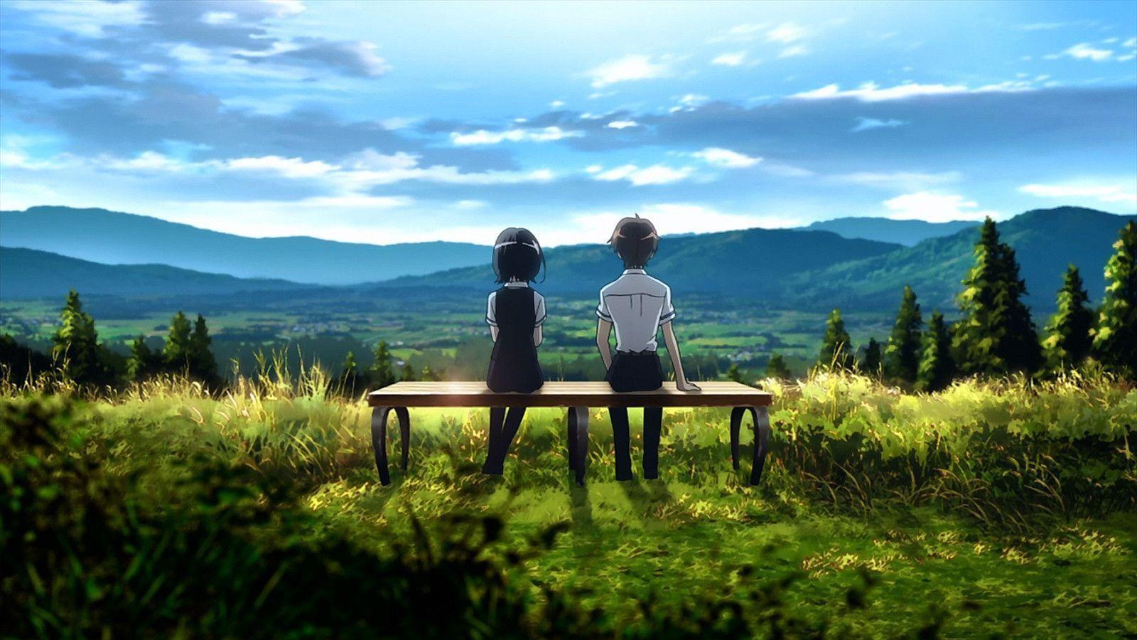romantic anime wallpaper - photo #36