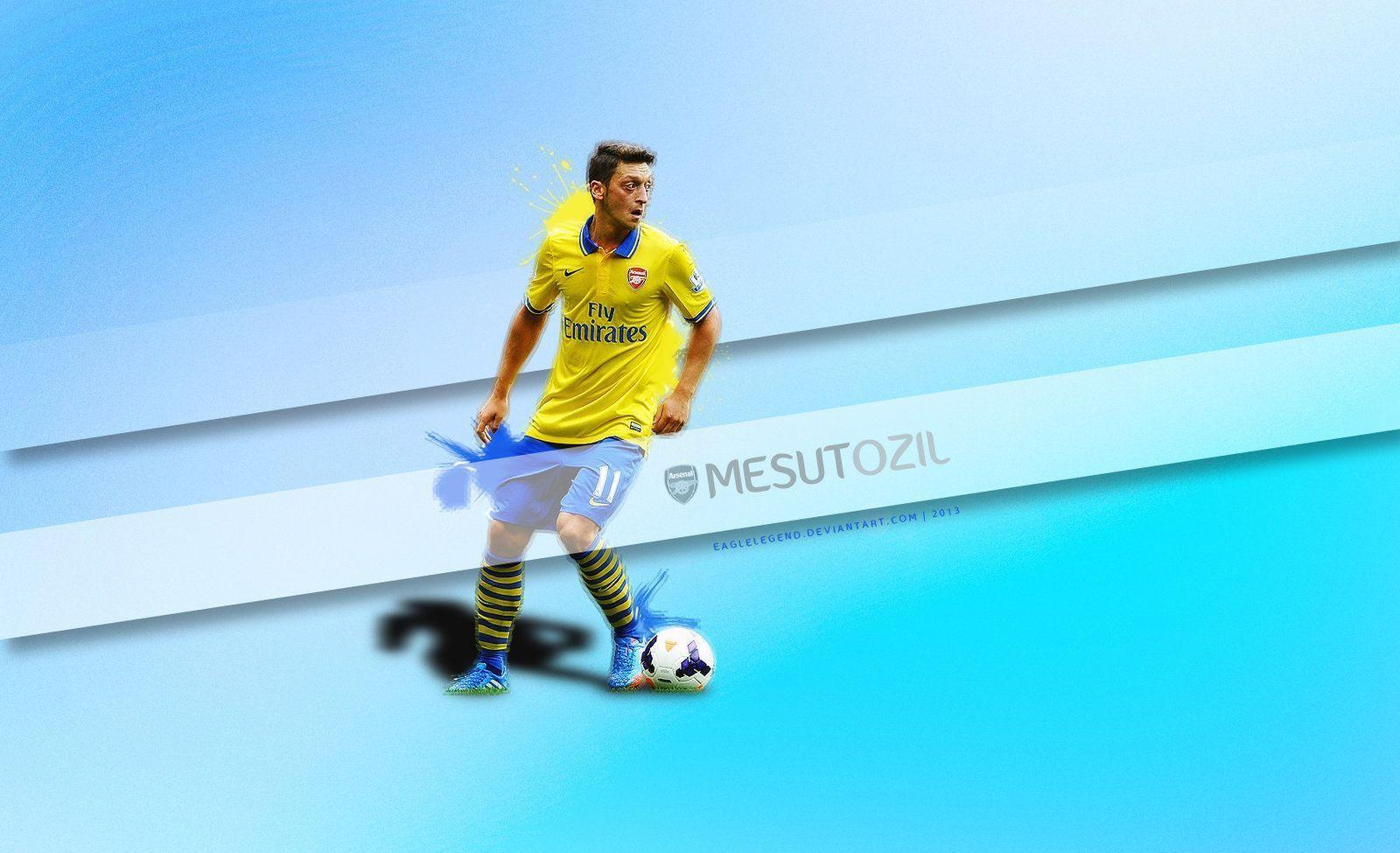 DeviantArt: More Like Mesut Ozil Wallpapers by eaglelegend