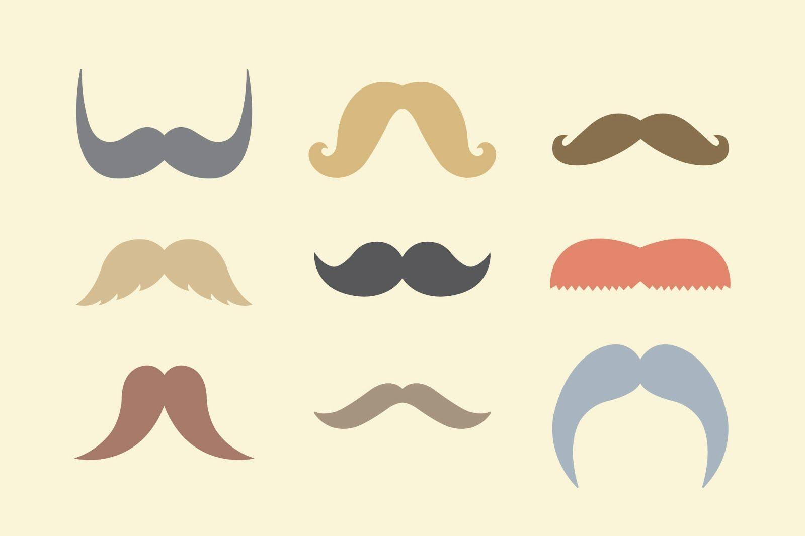 Wallpapers For Colorful Mustache Backgrounds