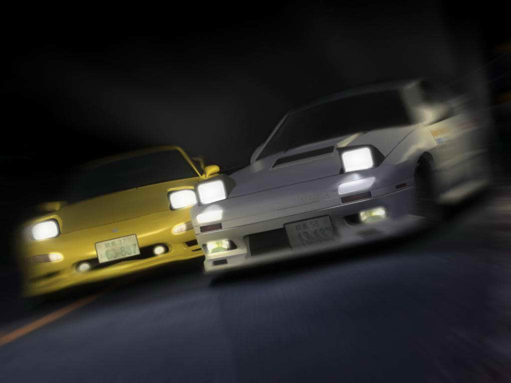 Initial D Anime 10241 Desktop Backgrounds