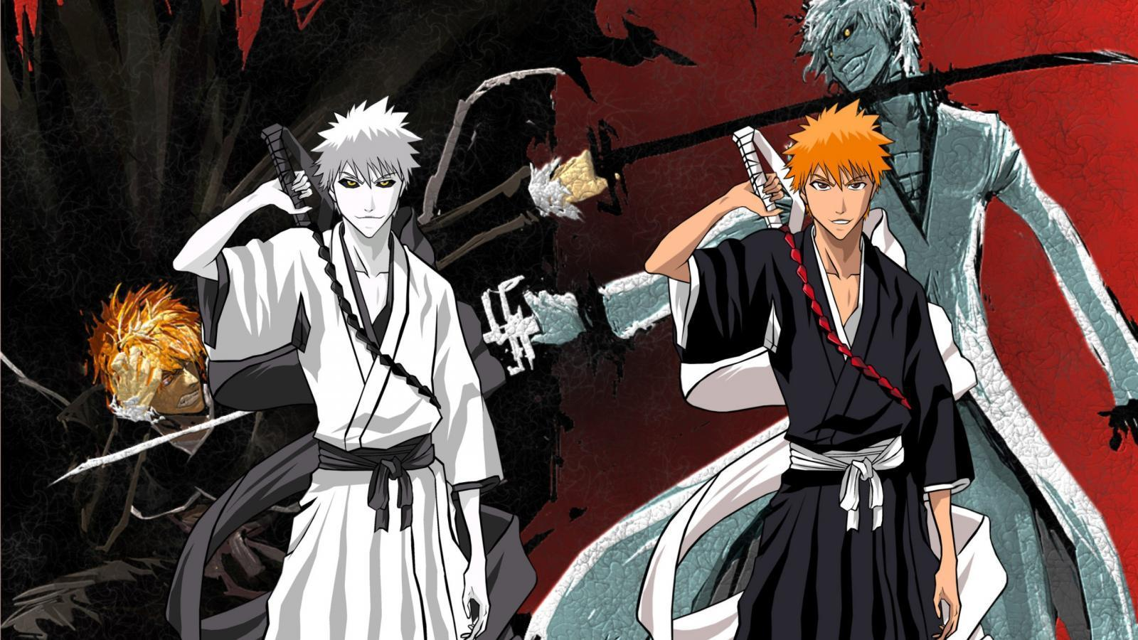 Download Hollow Ichigo Anime Bleach Form Free Wallpaper 1600x900