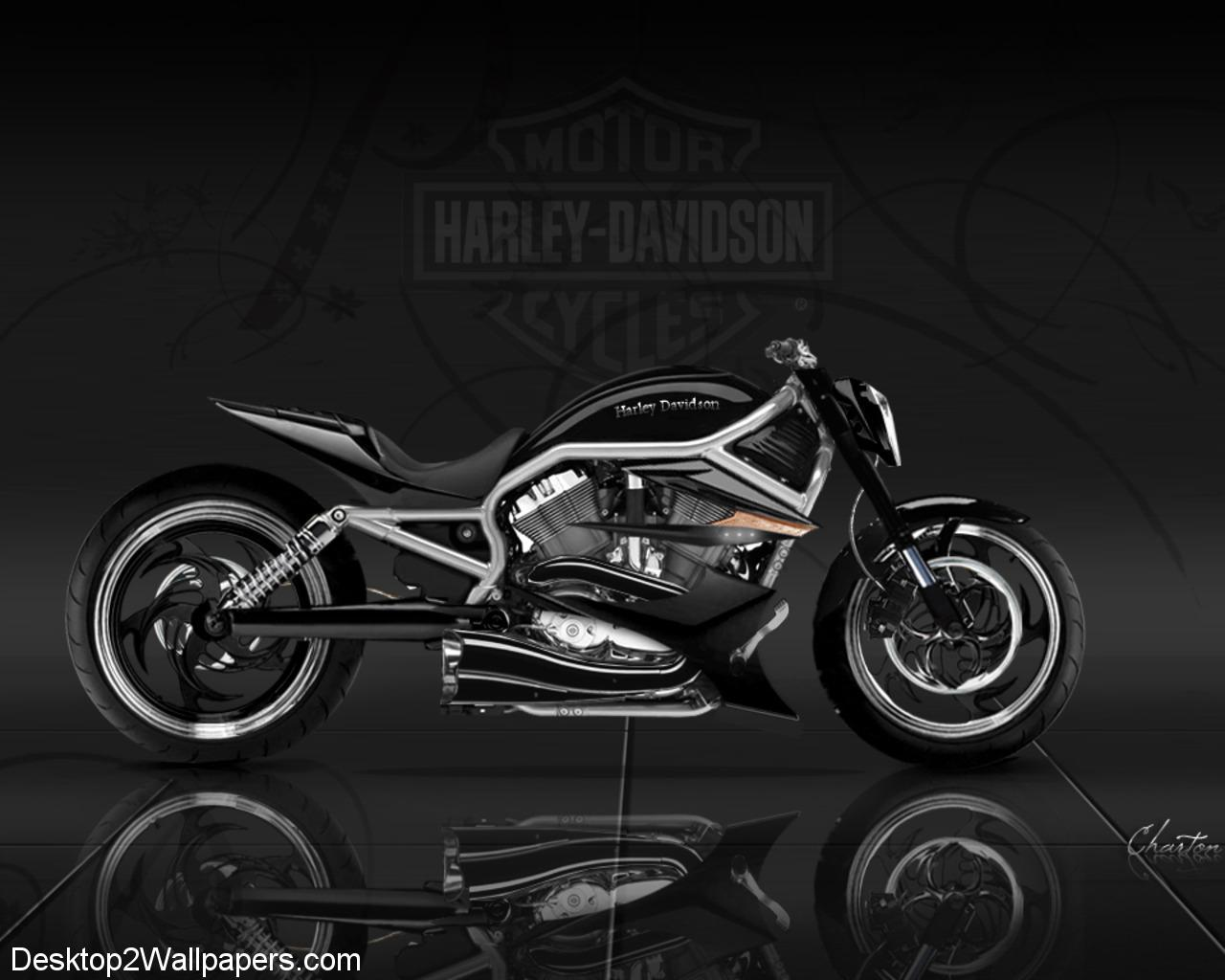 HD Harley Davidson Concept 6407 Full HD Wallpaper Desktop - Res ...
