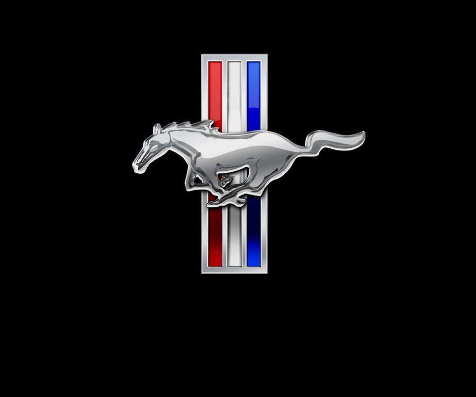 Mustang Logo Wallpapers Wallpaper Cave