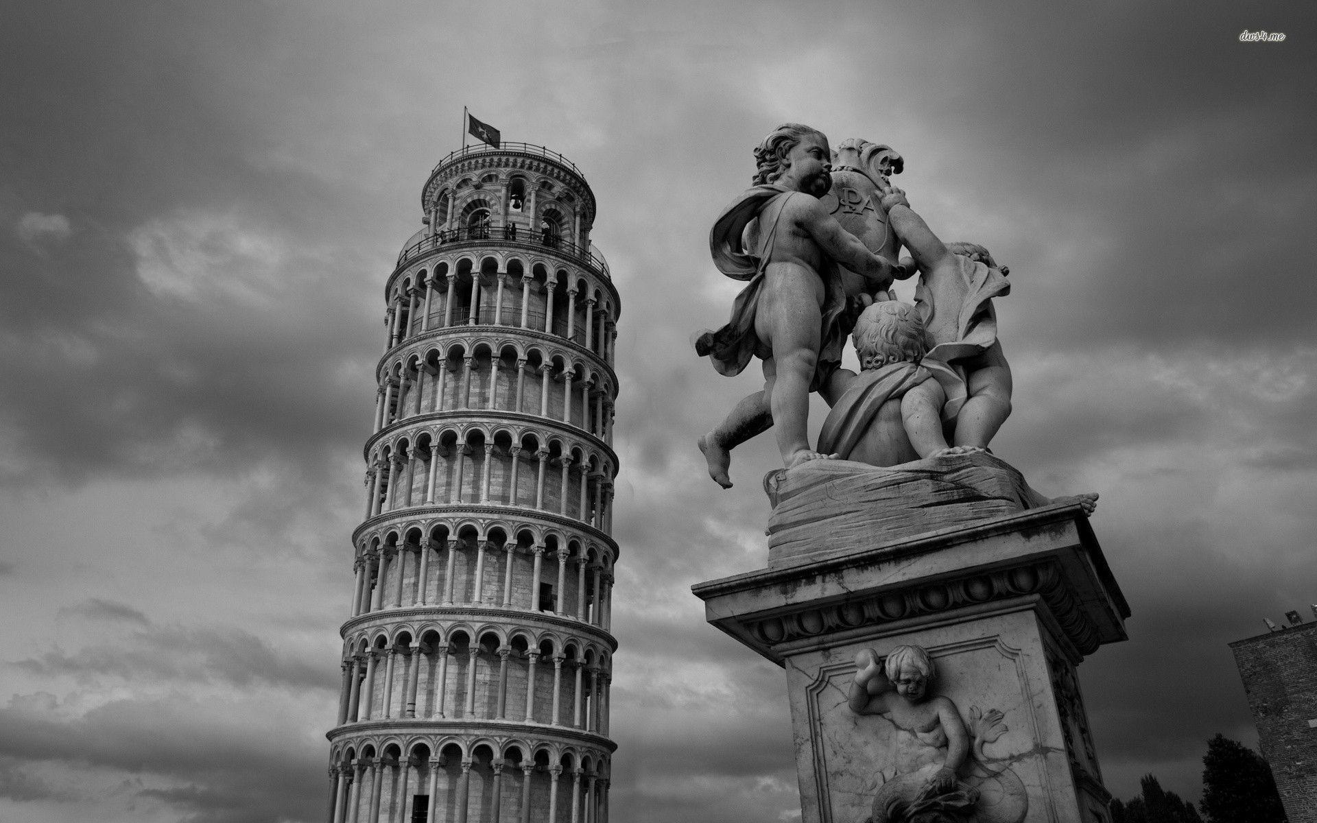 Leaning Tower of Pisa wallpaper - World wallpapers - #