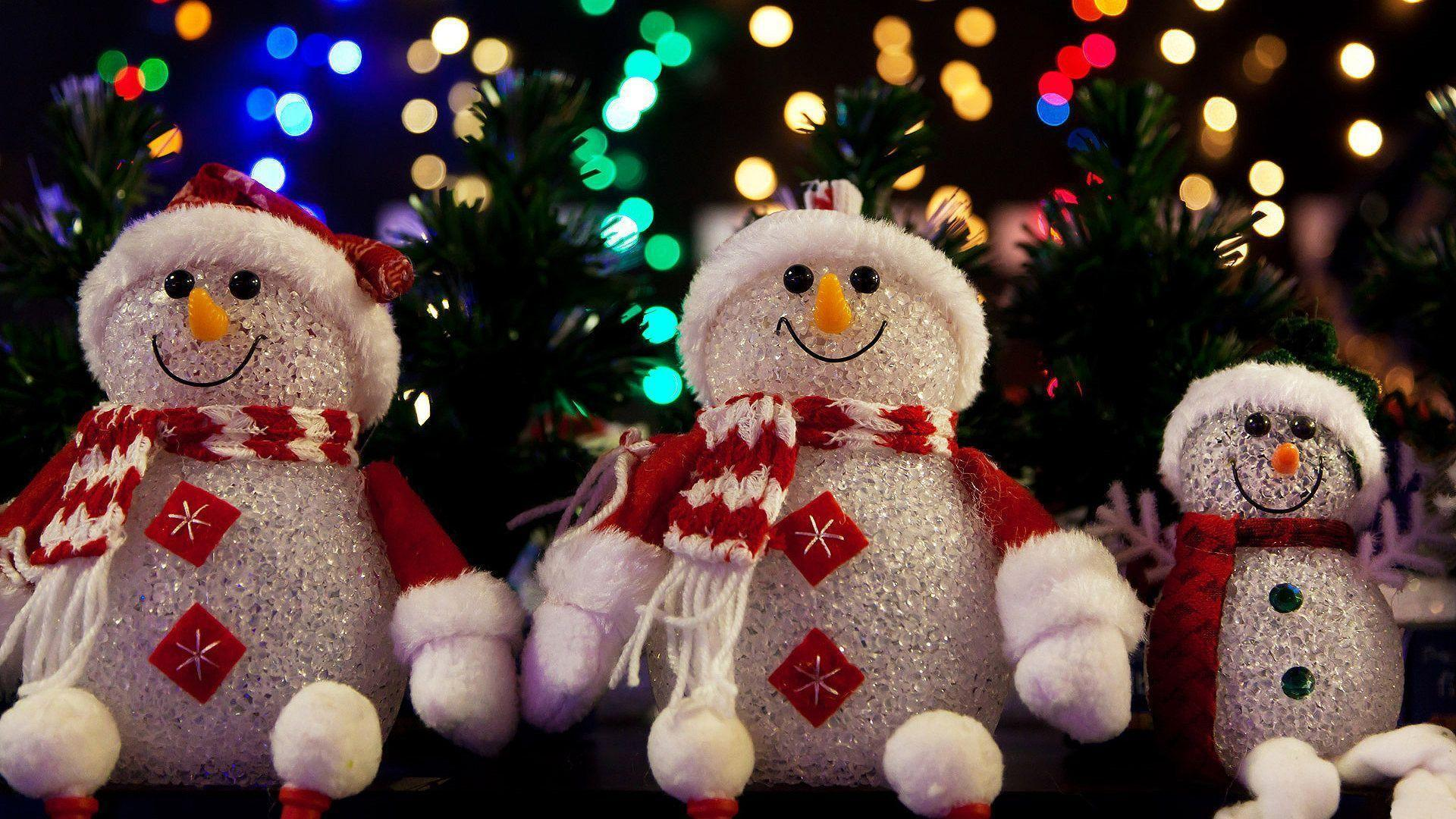 Christmas Wallpapers with Frosty the Snowman