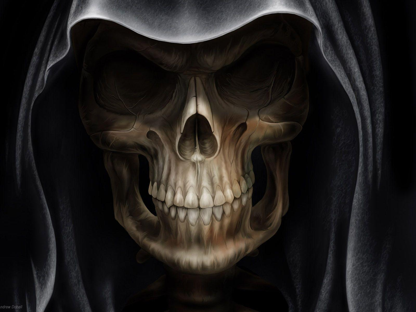 3d skull wallpapers - wallpaper cave