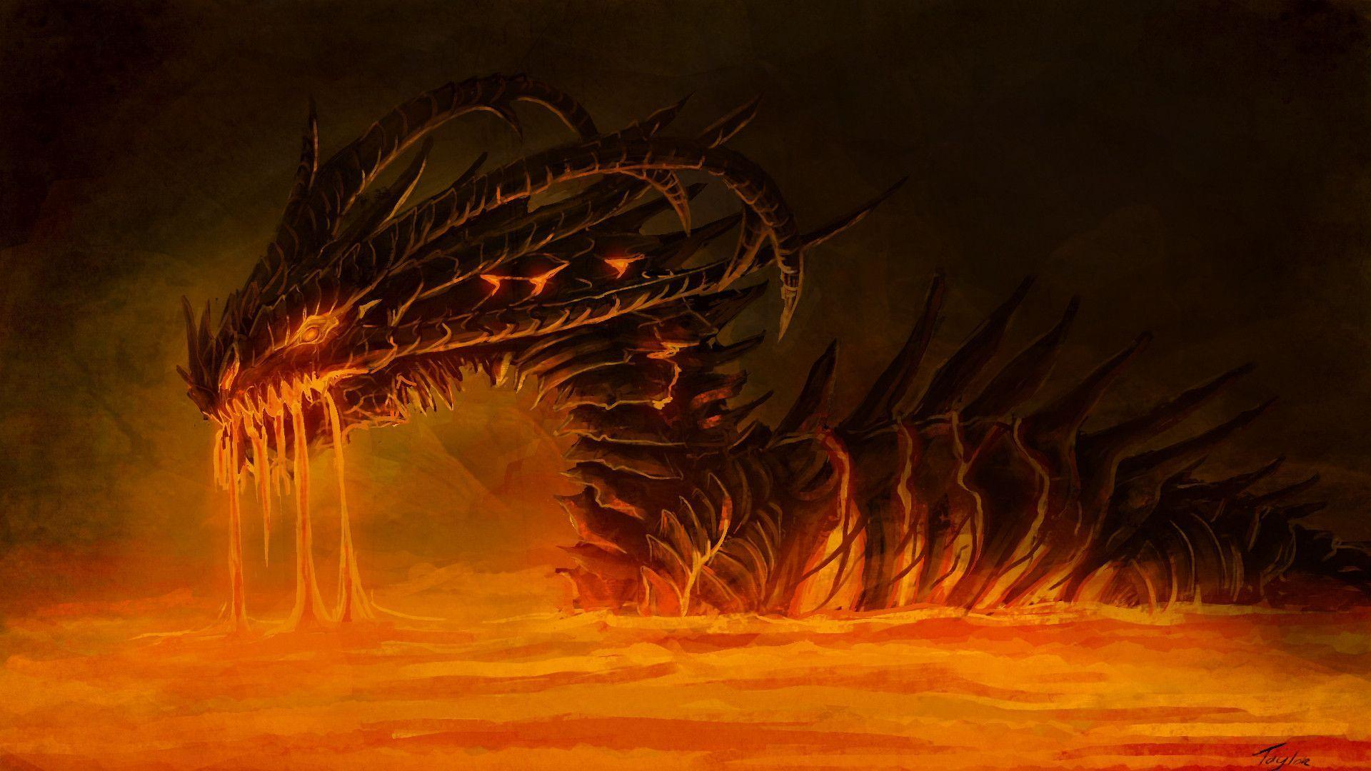 Fire dragon wallpapers wallpaper cave - Dragon backgrounds ...