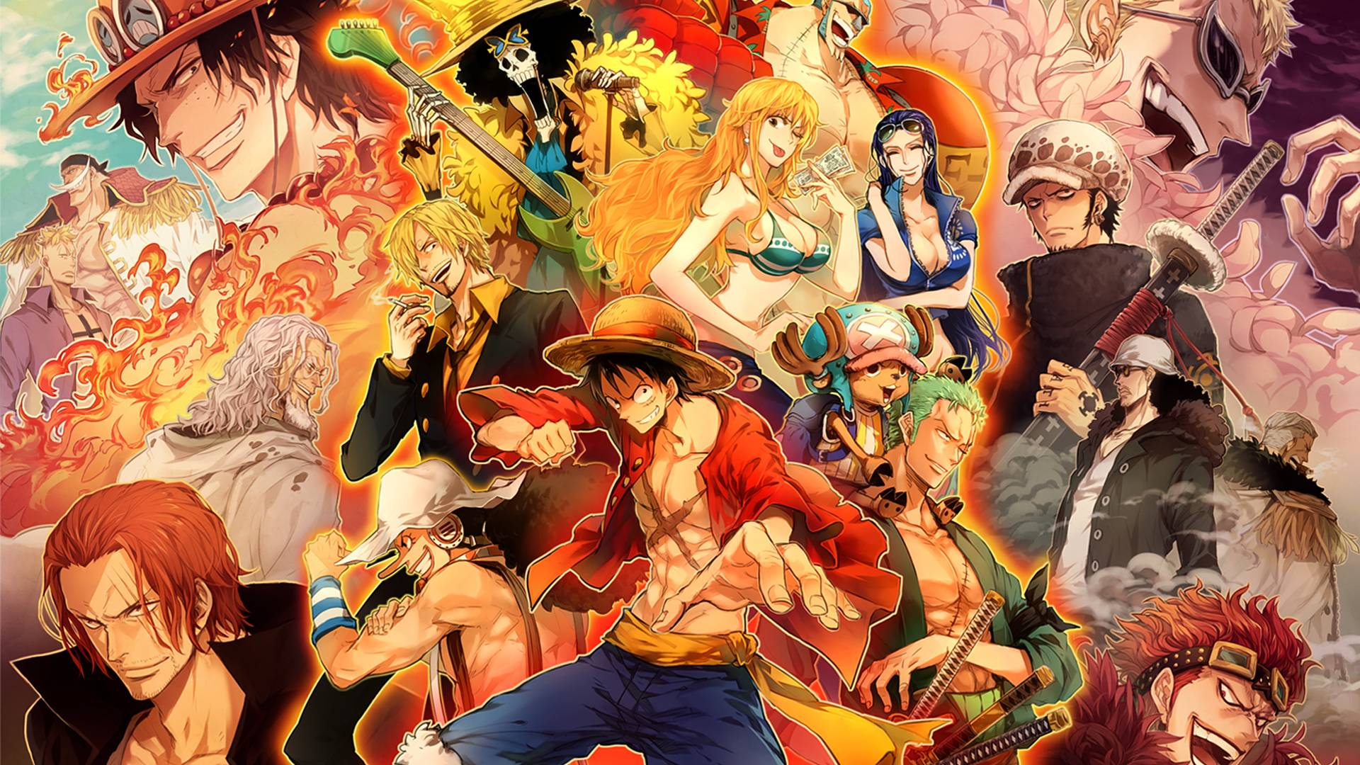 One Piece Crew New World Desktop Wallpaper 268