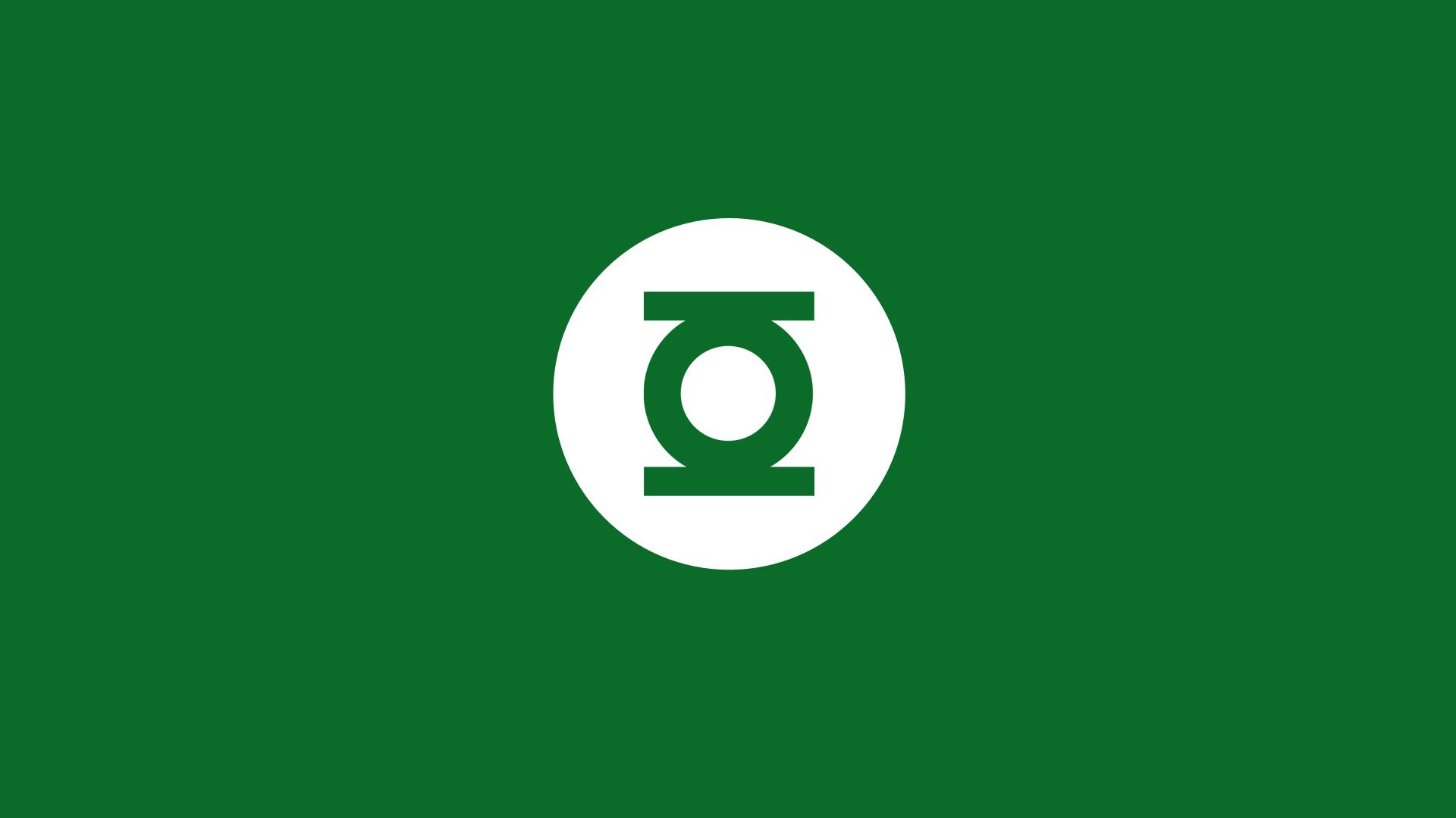Green Lantern Logo Black  Free image on Pixabay