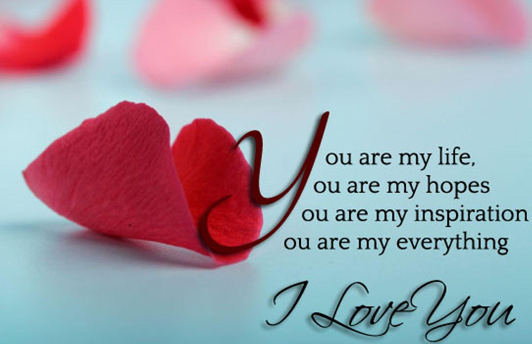 Lovers Boys And Girls: Love Wallpapers With Messages