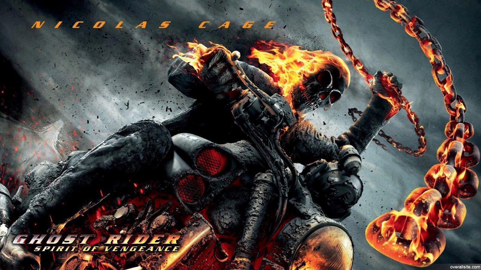 Wallpapers For Ghost Rider 2 Skull Wallpaper