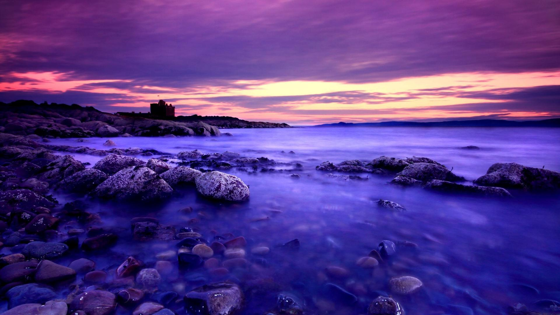 Purple sunset wallpapers wallpaper cave - Hd wallpaper for laptop 14 inch ...