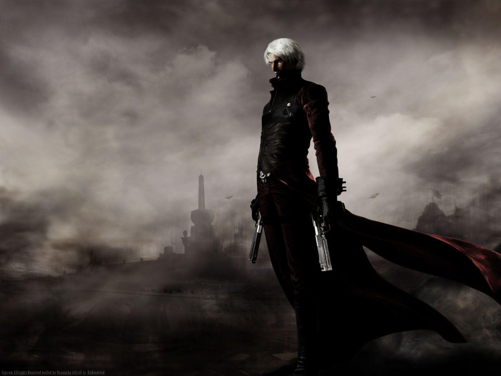 Devil May Cry Dante Wallpaper: Dante Devil May Cry Wallpapers