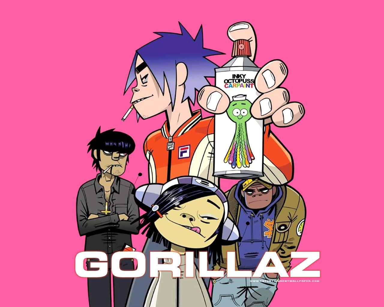 download wallpaper gorillaz desktop - photo #2