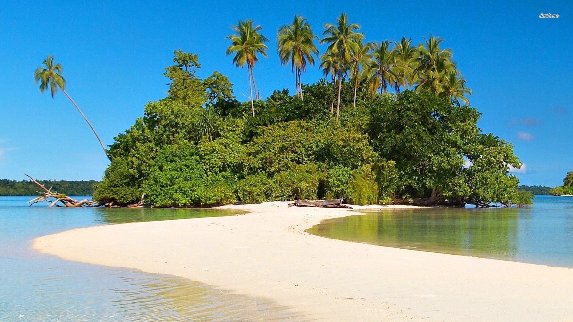 Small island wallpaper - Beach wallpapers - #