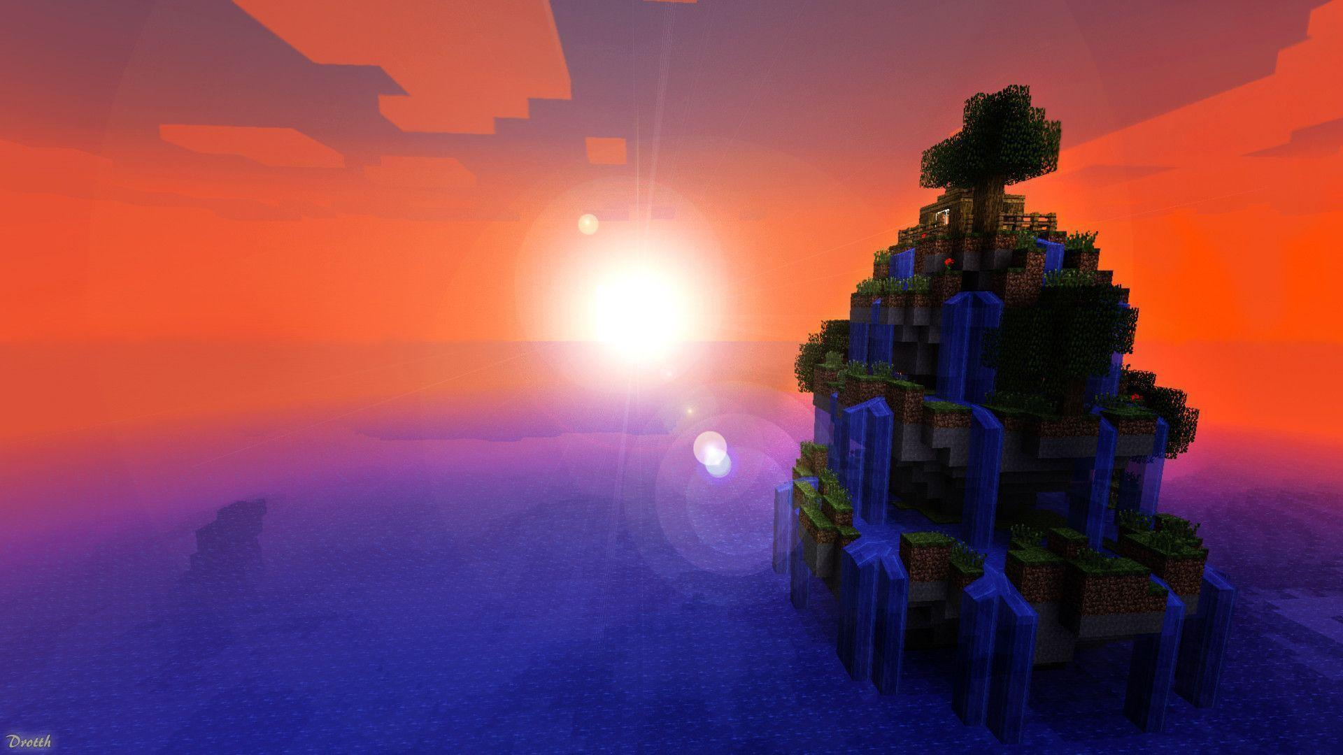 epic minecraft backgrounds