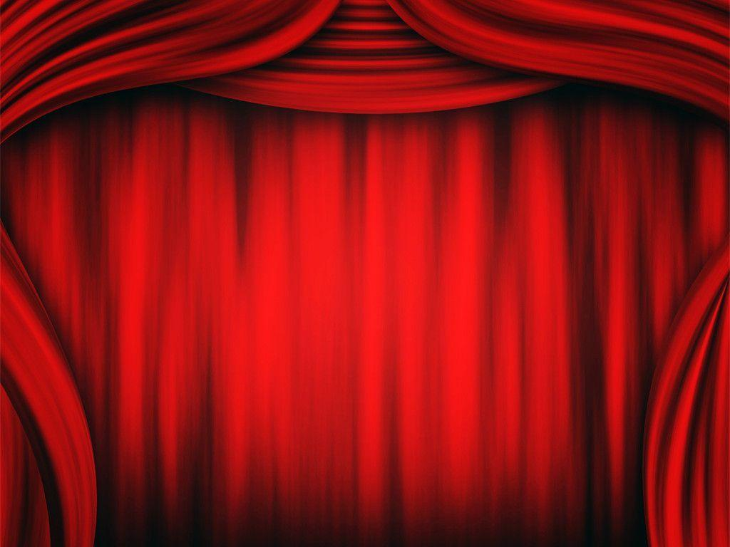 Stage curtain wallpaper curtain designs - Theater Curtain Wallpapers Ppt Backgrounds Template For