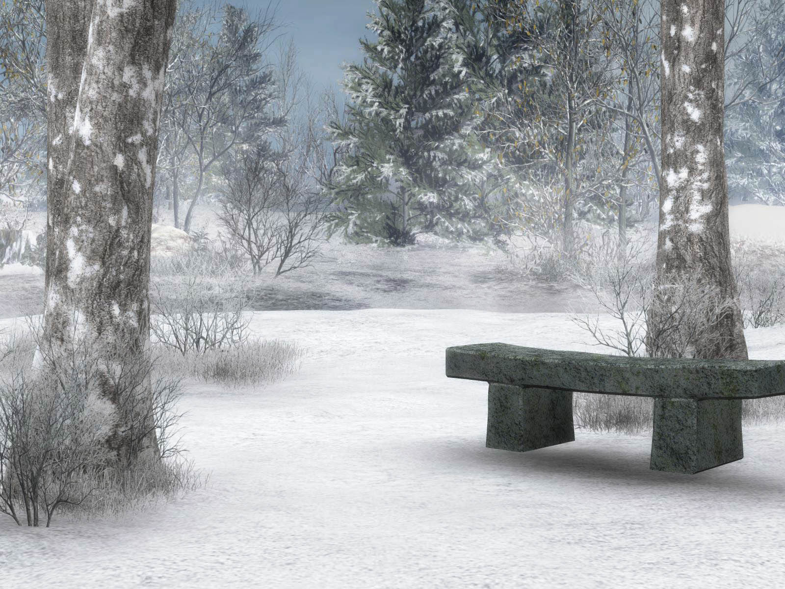 3d winter scenes wallpaper - photo #11