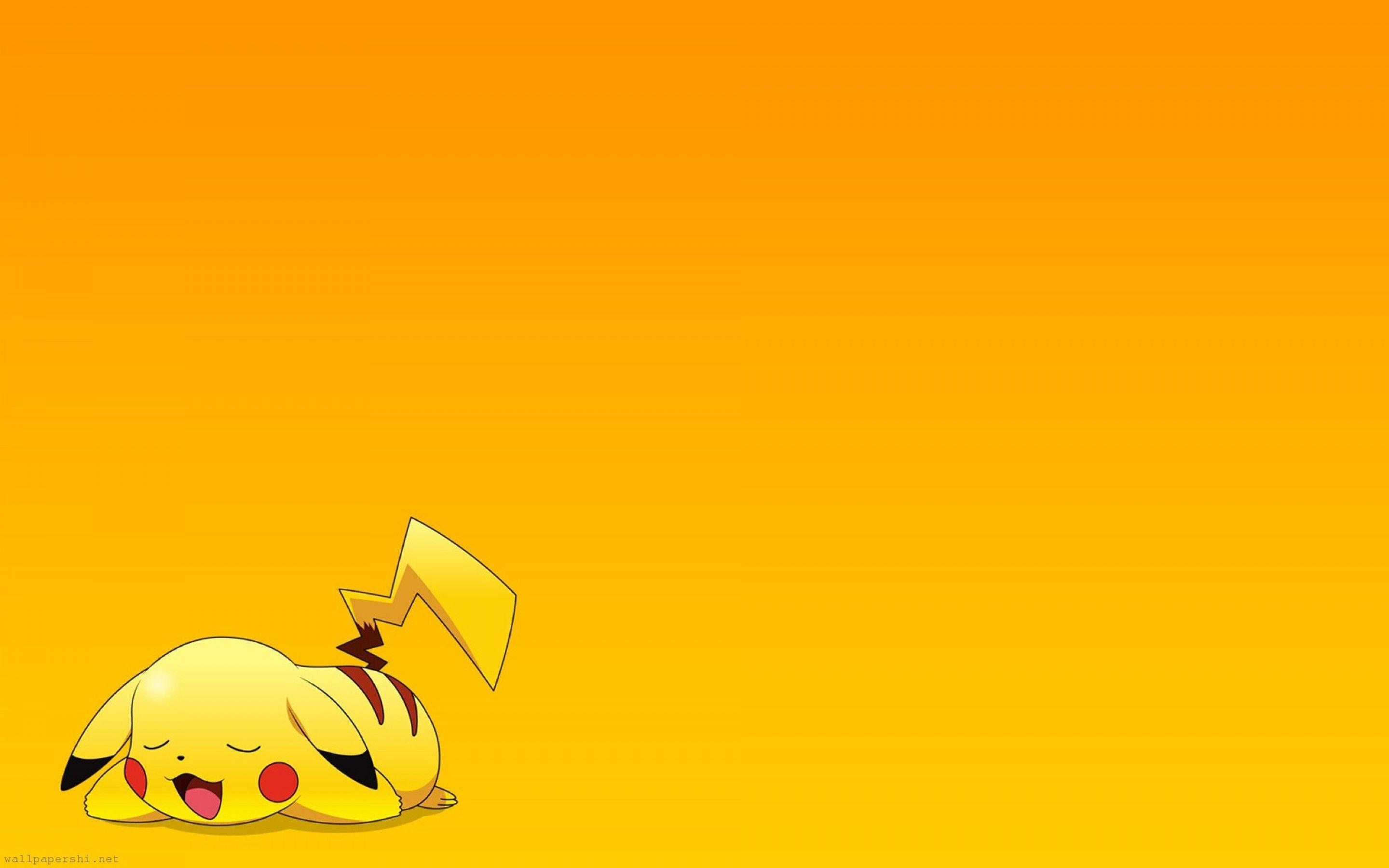 Pokemon Pikachu Exclusive HD Wallpapers