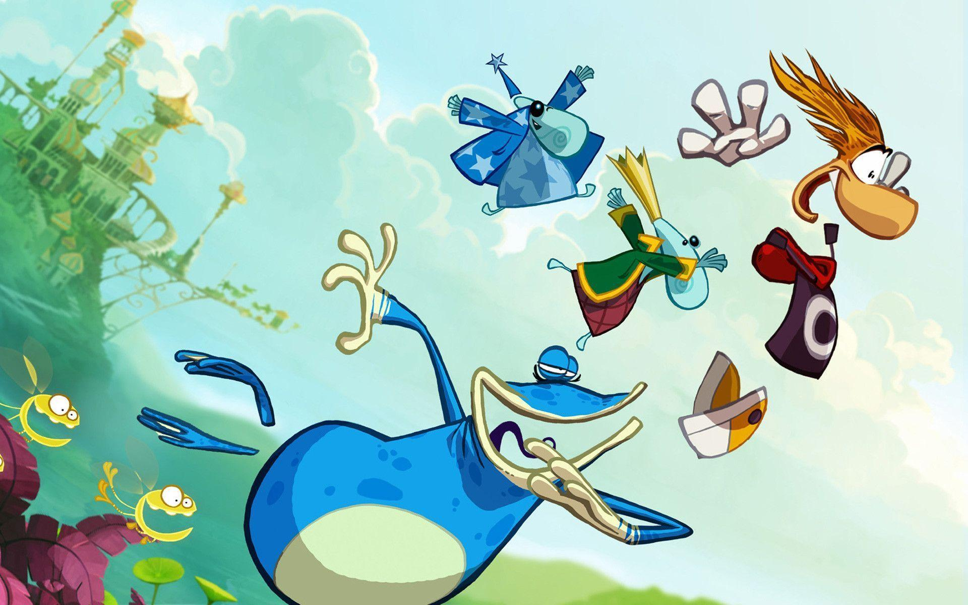 14 Rayman Origins Wallpapers