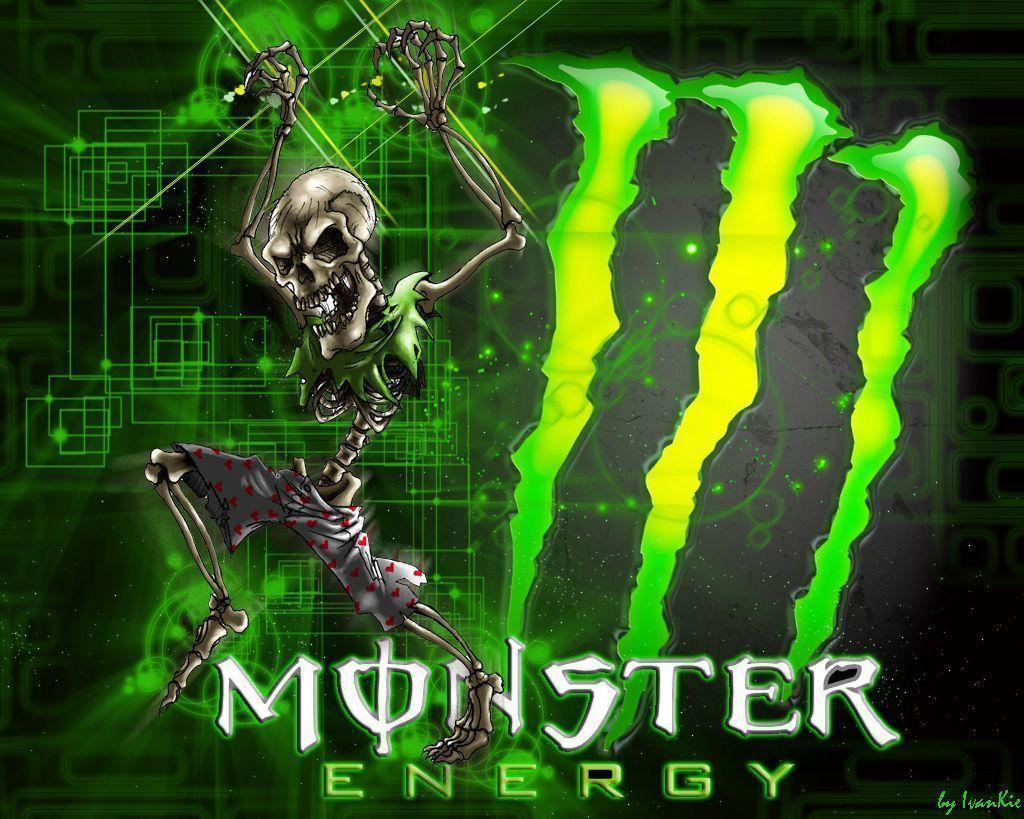 Kawasaki Logo Monster Of Energy Wallpaper #10237 Wallpaper | WallGoo.