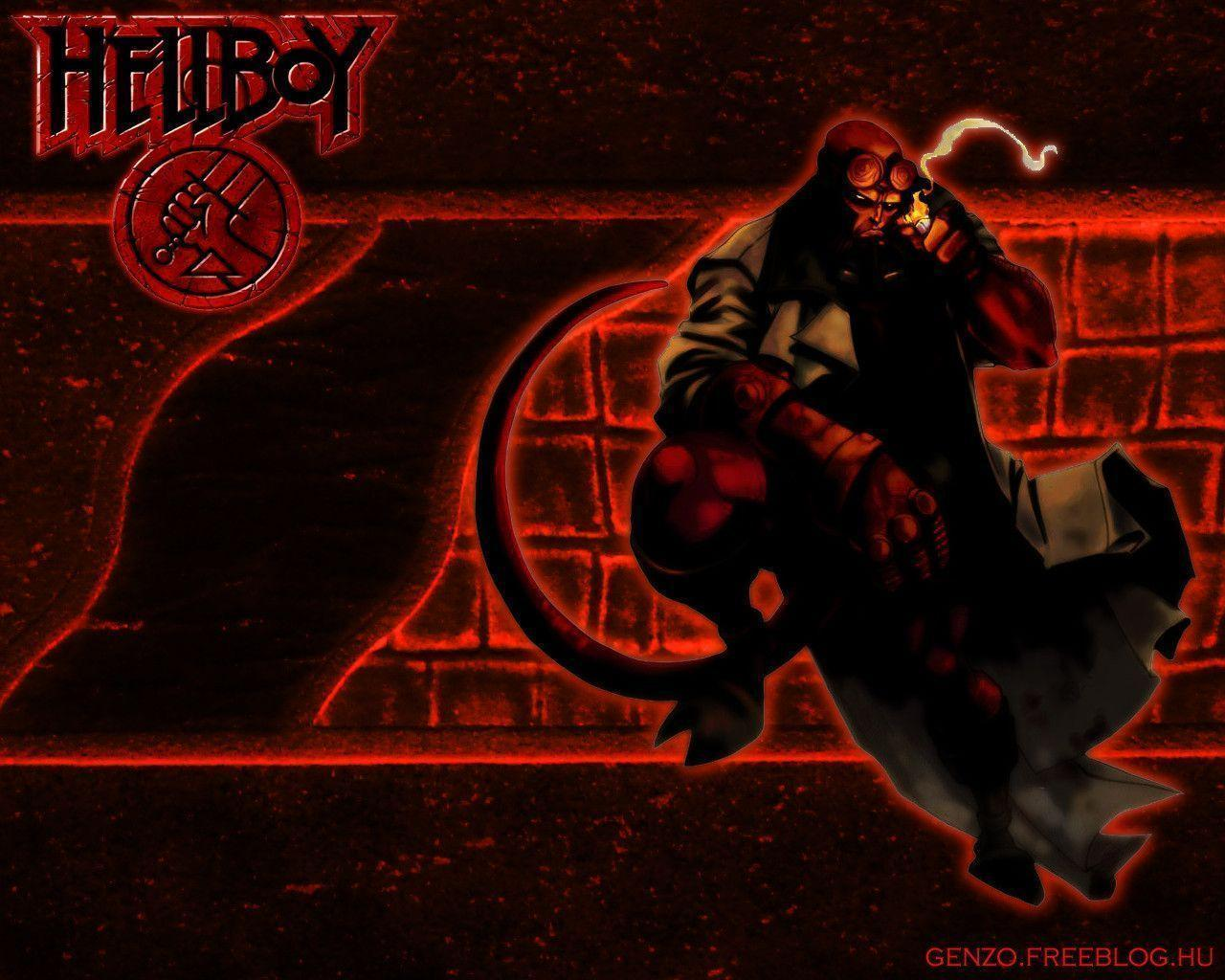 Image For > Hellboy Wallpapers Logo
