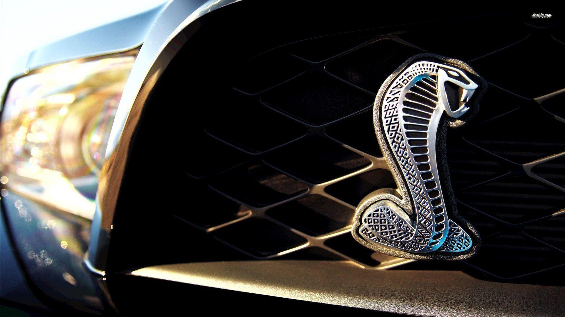 Mustang Logo Wa...