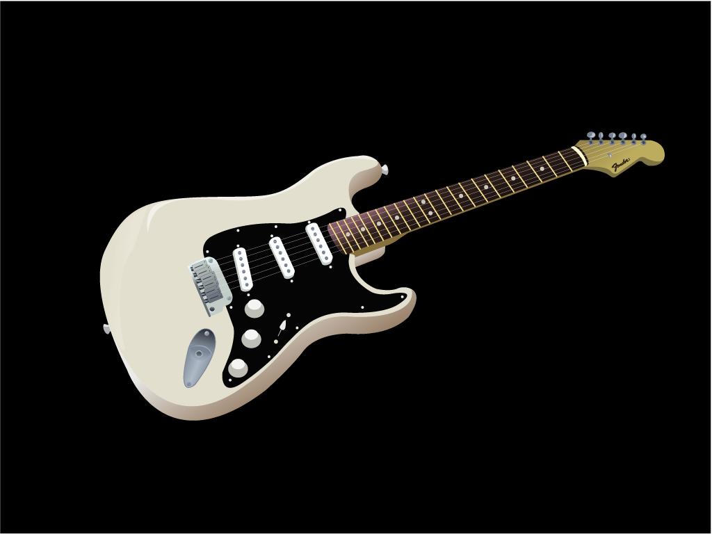 Fender Stratocaster Guitar Wallpaper - Hobbies & Leisure