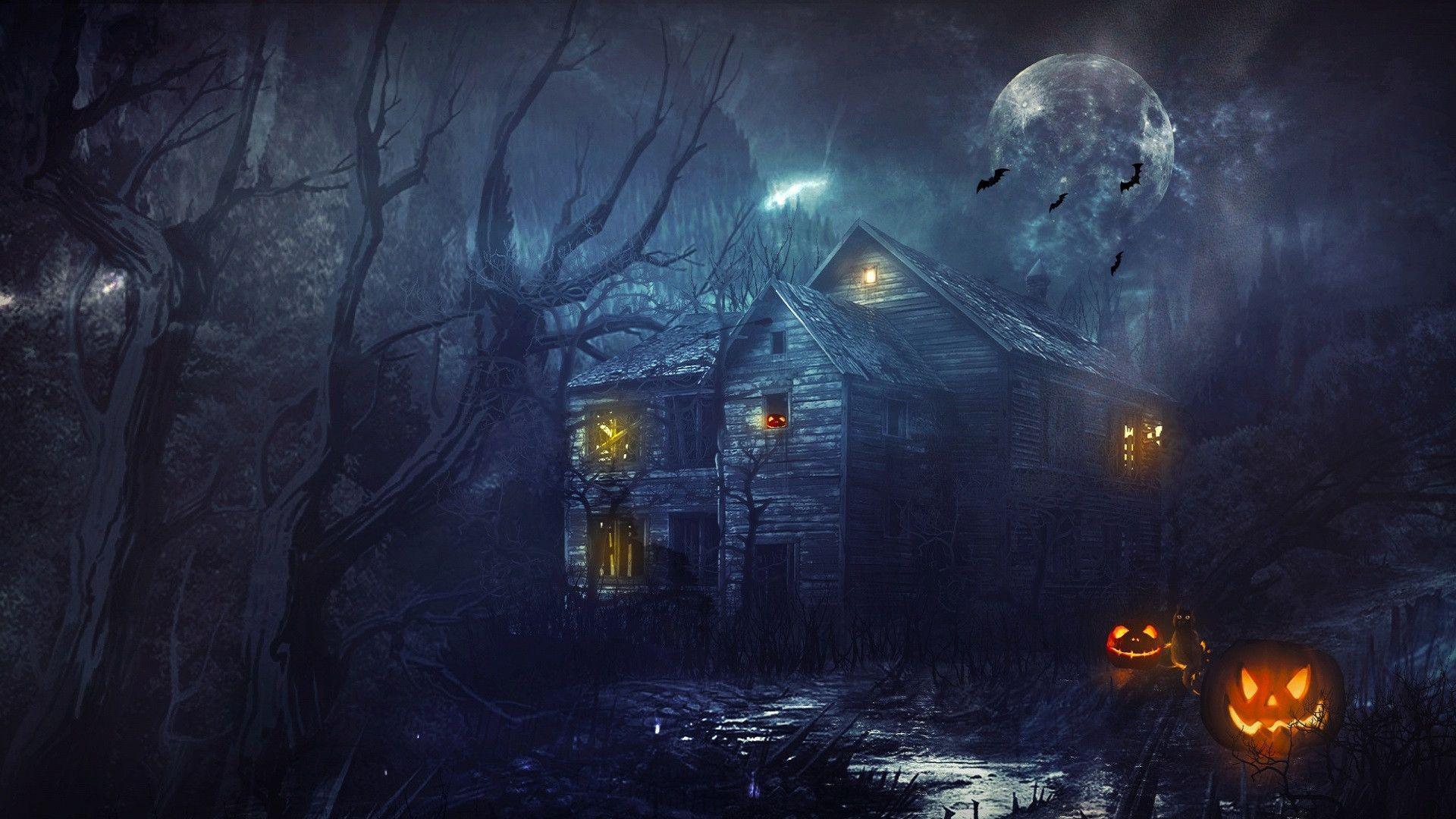 Halloween Backgrounds Wallpapers - Wallpaper Cave