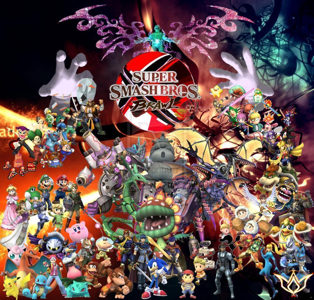 Super Smash Bros 4 Wallpaper Samyysandra Com