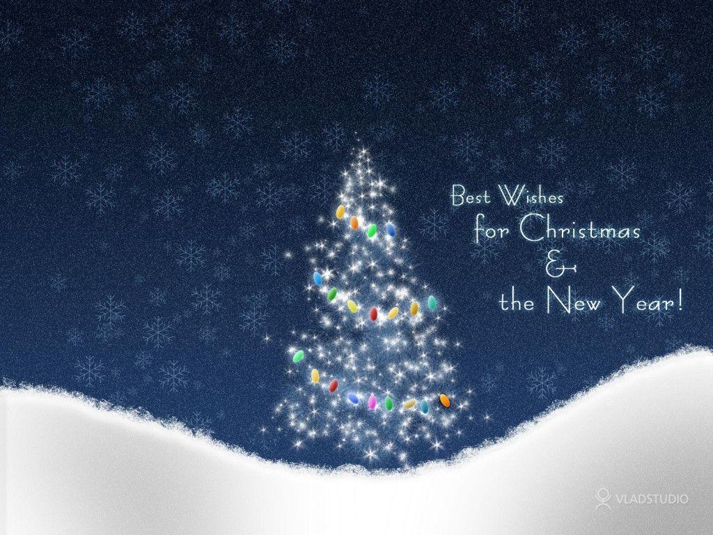 1024x768 Christmas snow desktop PC and Mac wallpaper
