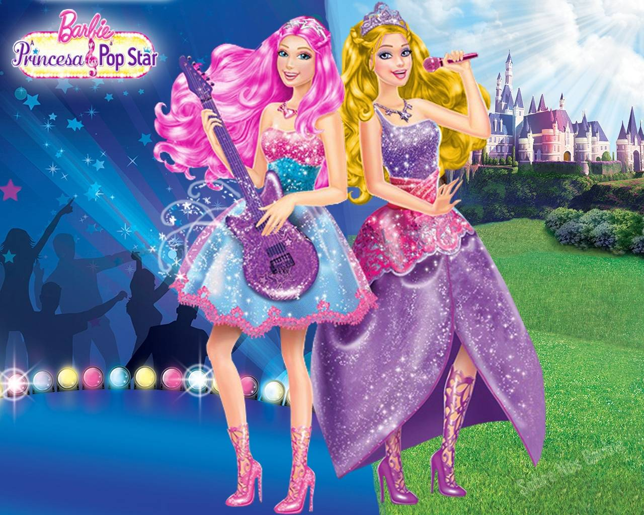 Barbie doll wallpapers wallpaper cave - Barbie princesse popstar ...