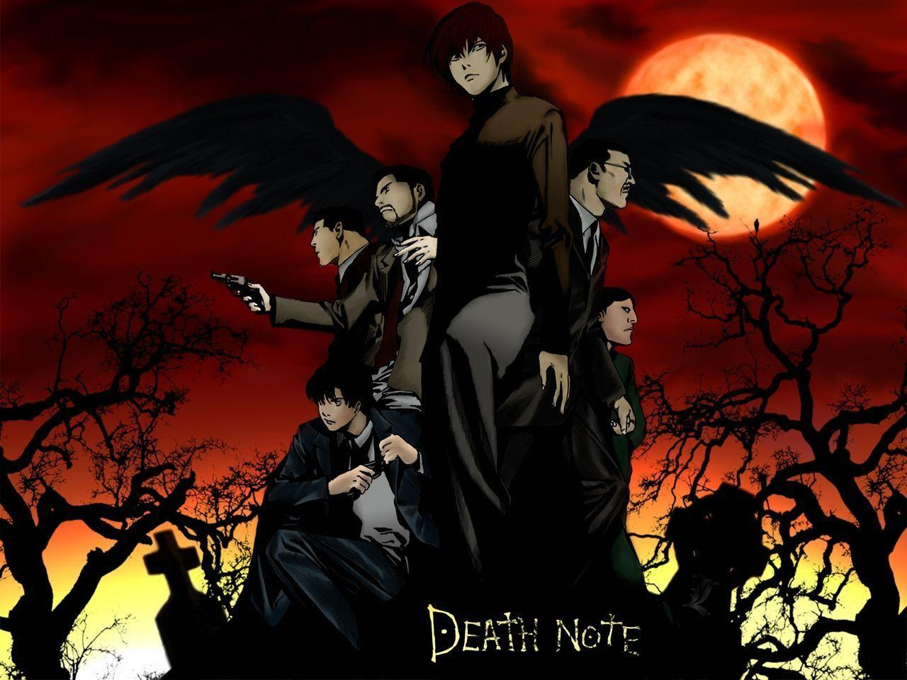 Death Note Wallpapers 4316 Images | wallgraf.
