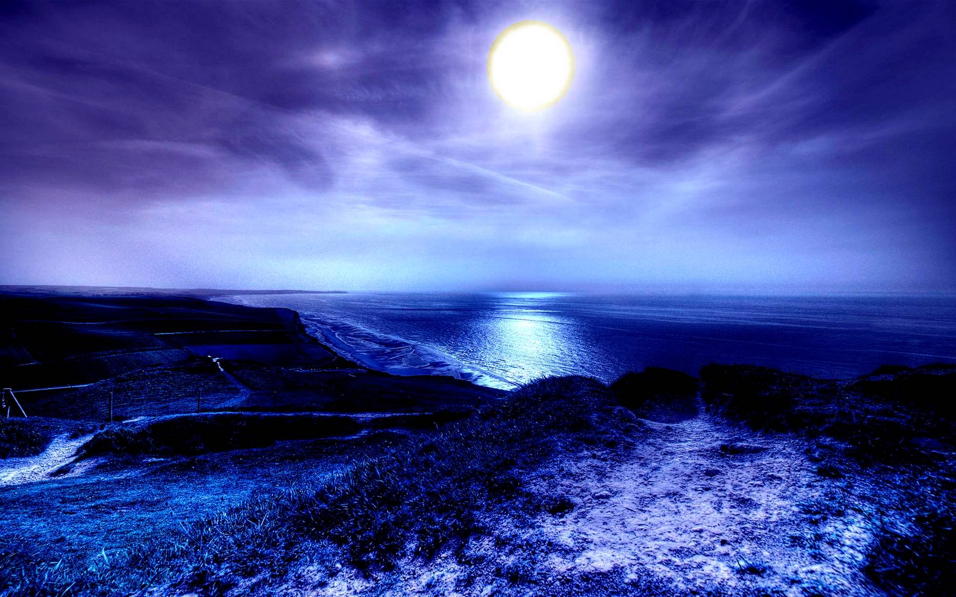 Wallpapers moonlight wallpaper cave for Amazing wallpapers for walls