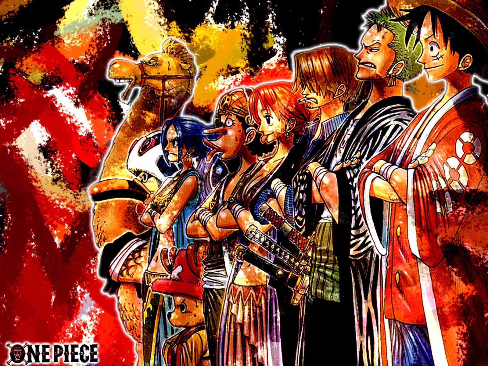 Wallpapers For > One Piece Straw Hat Crew Wallpapers