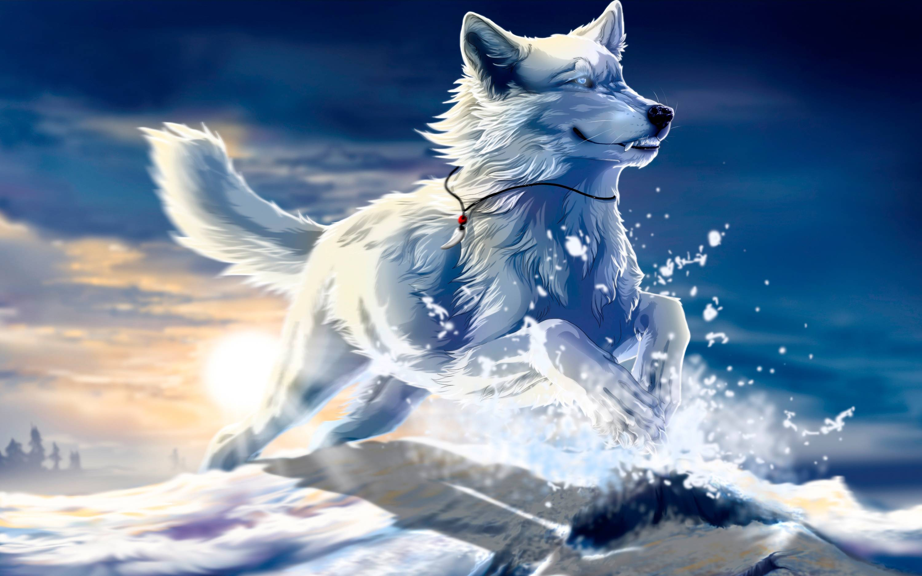 Wallpapers For > Cool Wolf Backgrounds