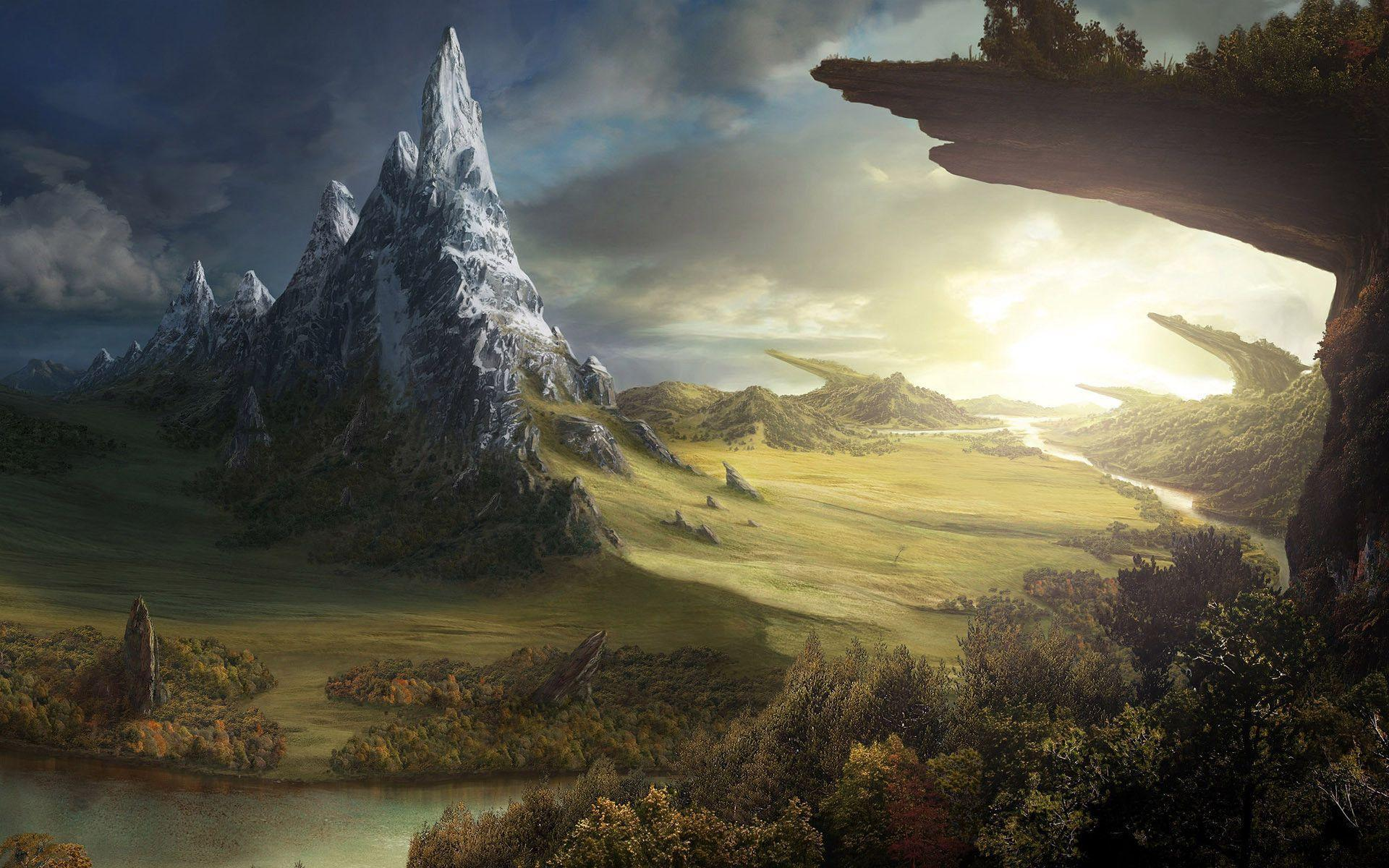 fantasy world backgrounds - wallpaper cave